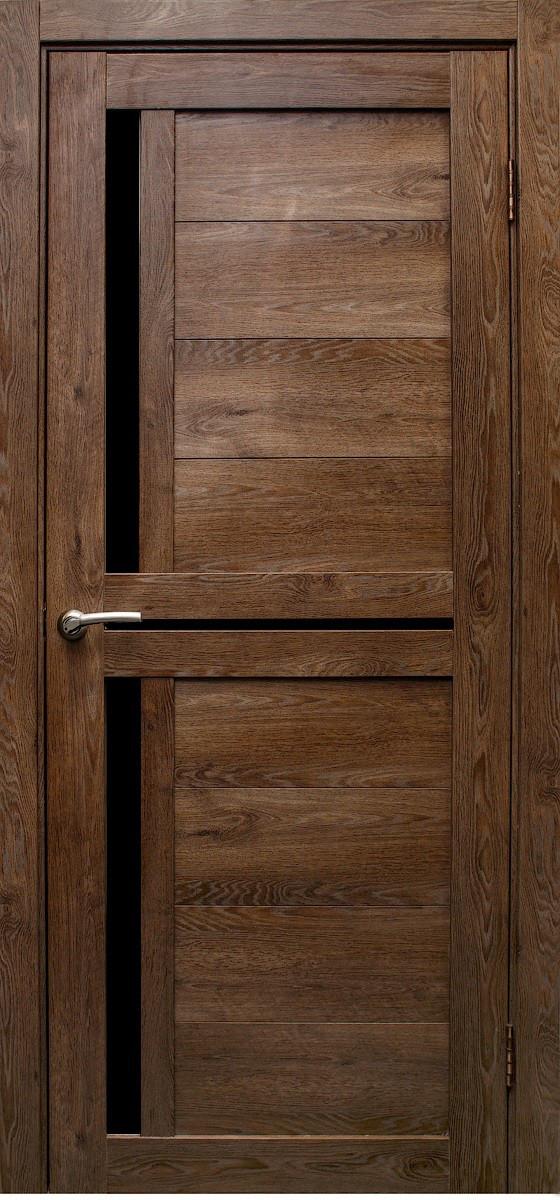 """Дверь 3D покрытие  """"Медиана"""" Дуб шоколадный"""