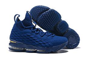 "Баскетбольные кроссовки Nike Lebron 15 (XV) from LeBron James ""Blue"", фото 2"