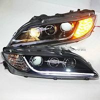 Передние фары 6 LED Strip Head Lamps A8 Style 2004-1