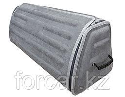 Органайзер в багажник серого цвета, 85 Х 28 Х 30 см доступ сверху