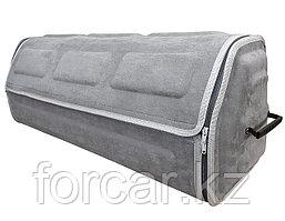 Органайзер в багажник серого цвета, 80 Х 26 Х 30 см доступ спереди