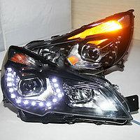 Передние фары Outback LED  Type 2 2010-2013