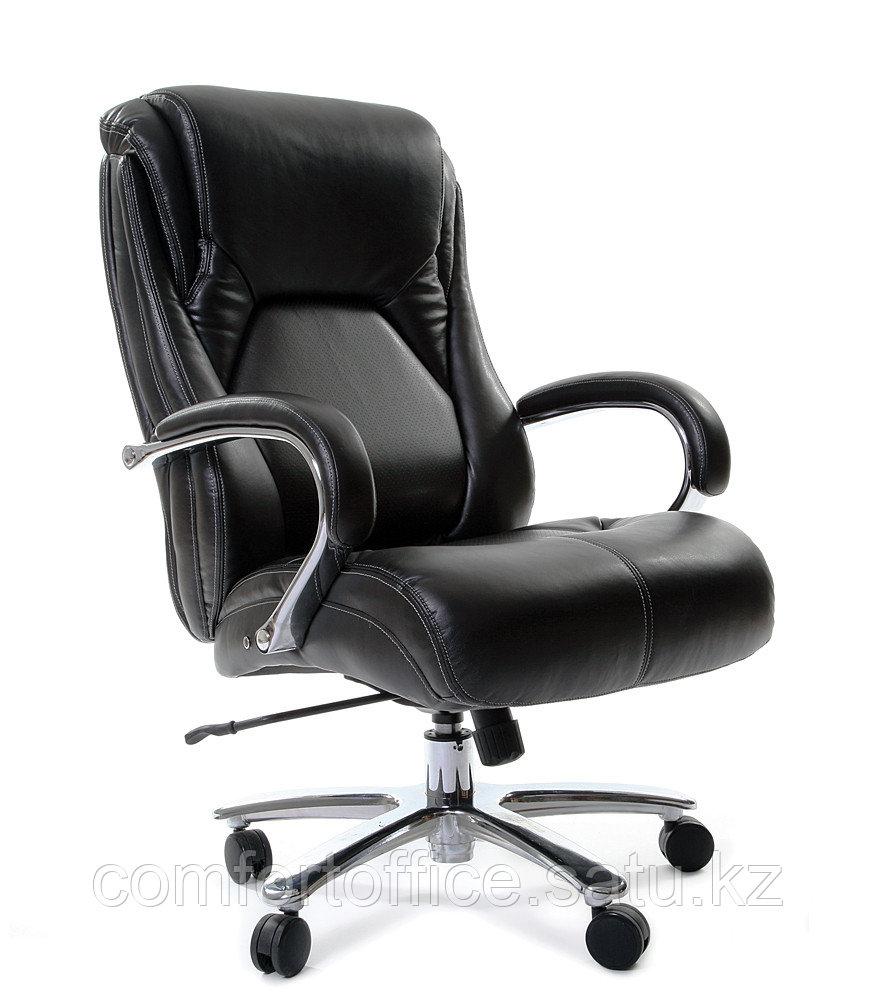 Кресло для руководителя в черном цвете