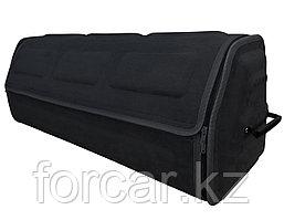 Органайзер FicoPro в багажник 80x26x30  (алькантара) черный, открытие спереди