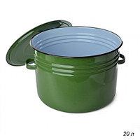 Бак 20л светлый (зеленый рябчик) С42827
