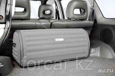Органайзер в багажник серого цвета, 80 Х 26 Х 30 см доступ спереди, фото 2