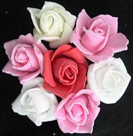 Цветы декоративные пришивные