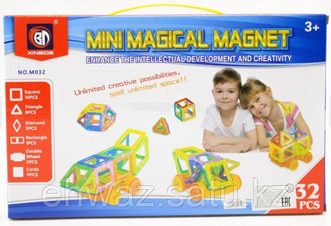 Магнитный конструктор Magical Magnet Mini 3D, 32 детали