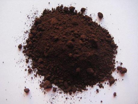 Железоокисный пигмент 868 коричневого цвета (темный), фото 2