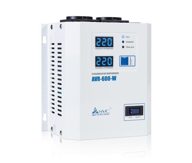 Стабилизатор напряжения AVR-600-W 600ВА(600Вт)