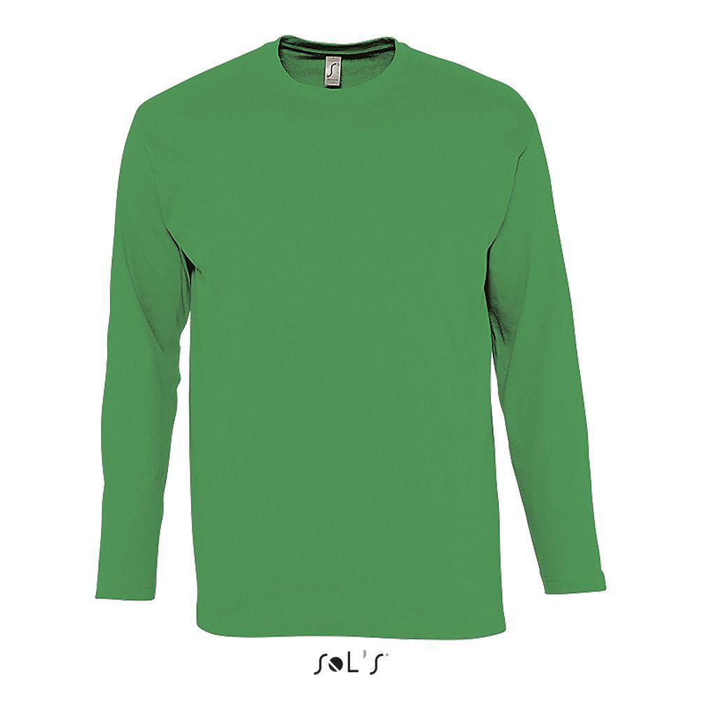Футболка | Sols Monarch M зеленый