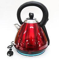 Электрический чайник MYLONG MY-3030, нержавеющая сталь, красный, 3 л.
