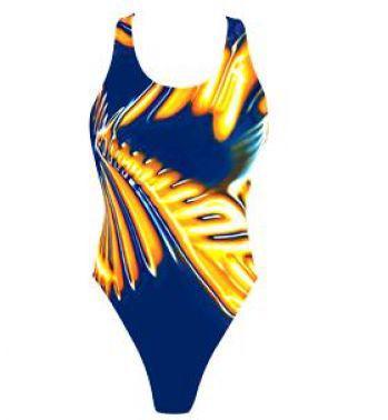 Спортивный купальник TYR Sound Wave Maxback 409