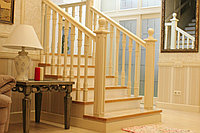 Изготовление деревянных лестниц, фото 1