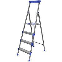 Лестница - стремянка широкие 4 ступени, Ника СМ4
