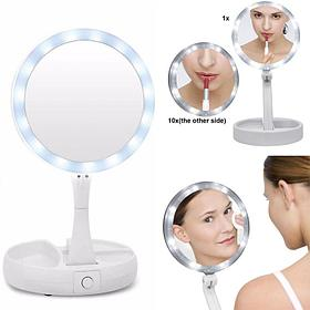 Косметическое зеркало с подсветкой My Foldaway Mirror