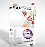 Косметическое зеркало с подсветкой My Foldaway Mirror, фото 4
