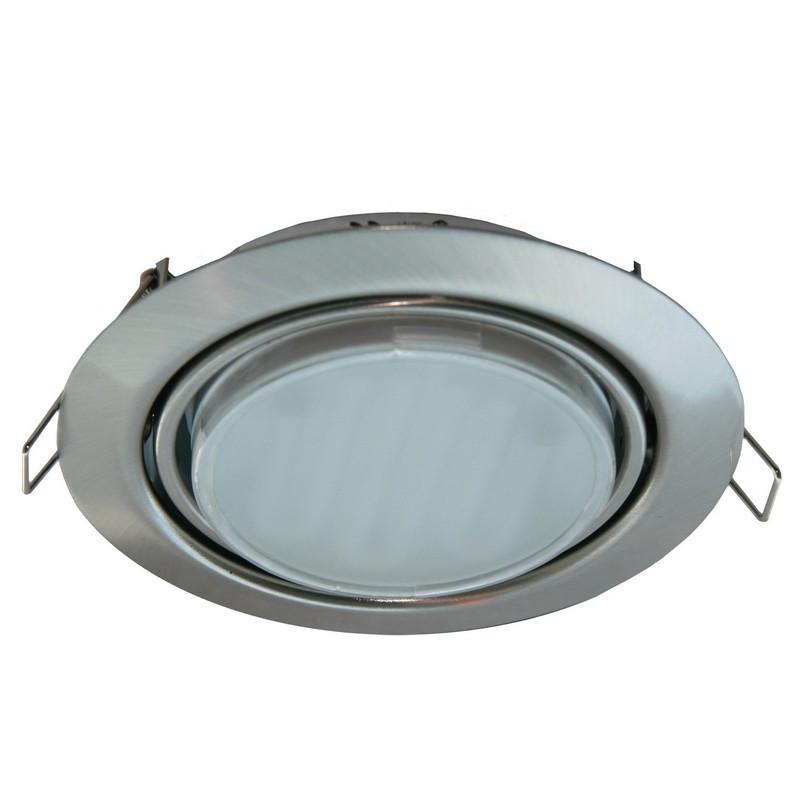 Светильники для натяжных потолков ECOLA(Экола) хром