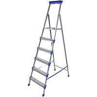 Лестница - стремянка широкие 6 ступени, Ника СМ6