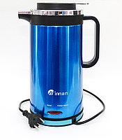 Электрический чайник-термос INNAN, синий, 2 л.