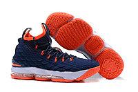 Баскетбольные кроссовки Nike LeBron 15 Navy Blue Orange