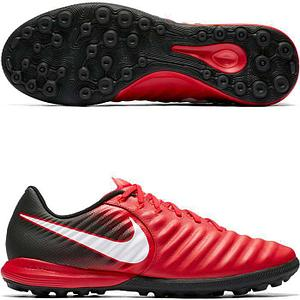 Cороконожки Nike TiempoX Finale TF красные