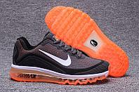 Кроссовки Nike Air Max 2017 KPU University Orange Grey Black размеры 40-45