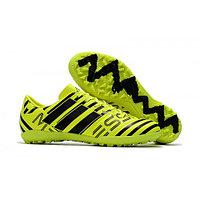 Бутсы футбольные Adidas Nemeziz Fluo17.3 TF SR желтый размеры 34-39