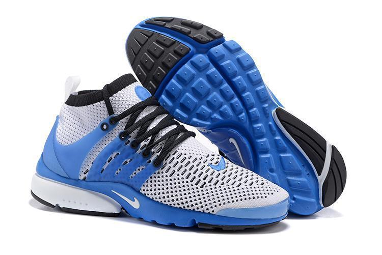 Кроссовки Nike Air Presto Ultra Flyknit Gray Blue - фото 1