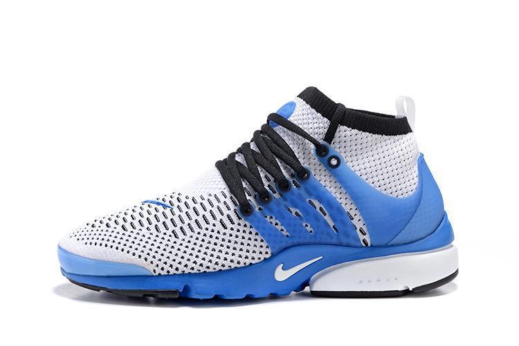 Кроссовки Nike Air Presto Ultra Flyknit Gray Blue - фото 2