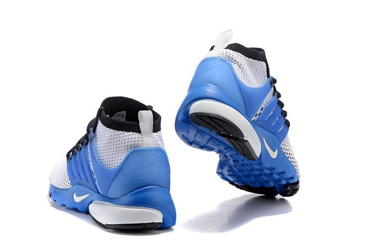 Кроссовки Nike Air Presto Ultra Flyknit Gray Blue - фото 3