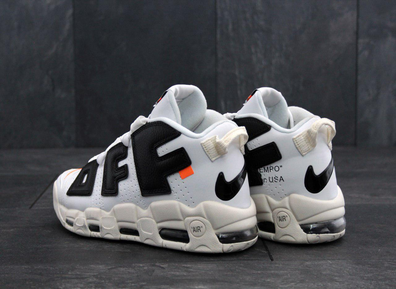 Кроссовки баскетбольные Nike Air More Uptempo X OFF WHITE - фото 5
