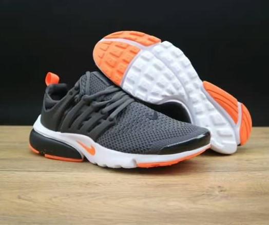 Кроссовки Nike Air Presto Ultra Flyknit Gray Orange - фото 1