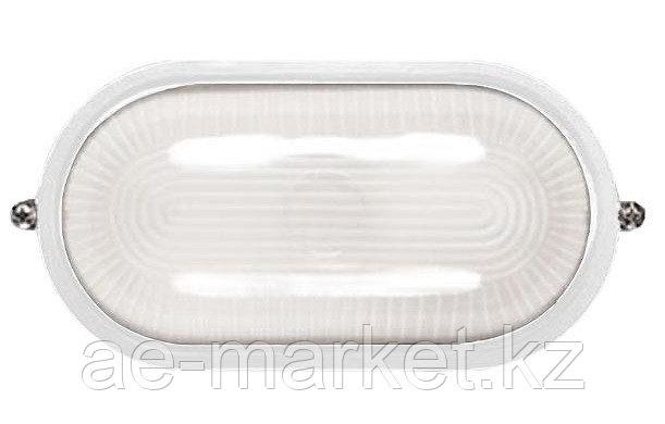 Светильник НПП 1201-100 бел/овал IP54