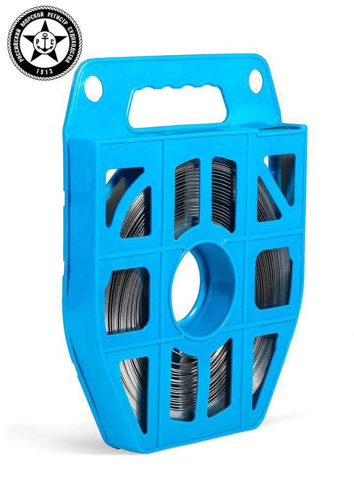 Лента крепежная в пластиковой кассете из нержавеющей стали ™КВТ