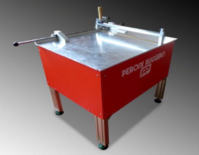 Peroni SC/M-1000-  Ручной стол для фрезирования канавок картонных сторонок