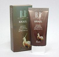 EKEL Snail BB Cream SPF50+/PA-Тональный ББ крем с экстрактом улиточного муцина