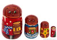 "Матрешка-сказка ""Три Медведя"", 4 куклы"