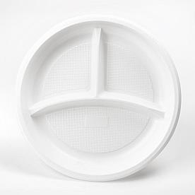 Тарелка 1-2-3 секции, 220мм