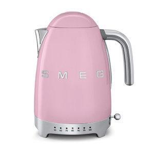 Чайник Smeg KLF04PKEU, розовый