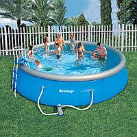 Круглый надувной бассейн Bestway 57212(57291) Fast Set Pool