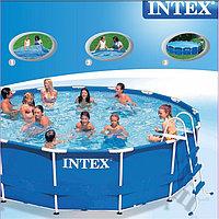 Круглый каркасный бассейн Intex 28234 Deluxe