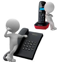 Аналоговые, цифровые-системные телефонные аппараты для дома и офиса