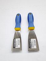 Шпатель 50 мм Строитель (двухкомпонентная ручка)