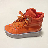Ботинки женские со шнуровкой, фото 2