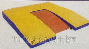 Мат для прыжковой зоны желтый Hit Up