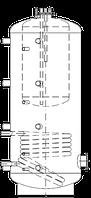 Бак ВТА/Н-1 1500/270 л