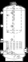 Бак ВТА/Н-1 1000/270 л