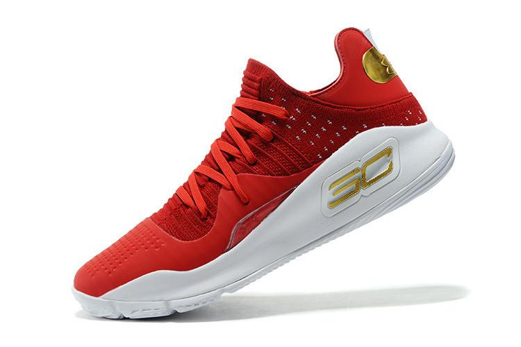 Баскетбольные кроссовки Under Armour Curry four IV ( 4 ) Low