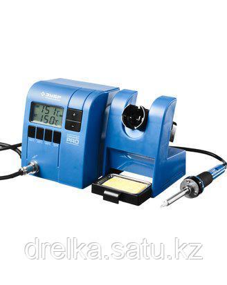 Паяльная станция ЗУБР 55335, ПРОФЕССИОНАЛ, цифровая, с ЖК дисплеем, керамический нагреватель